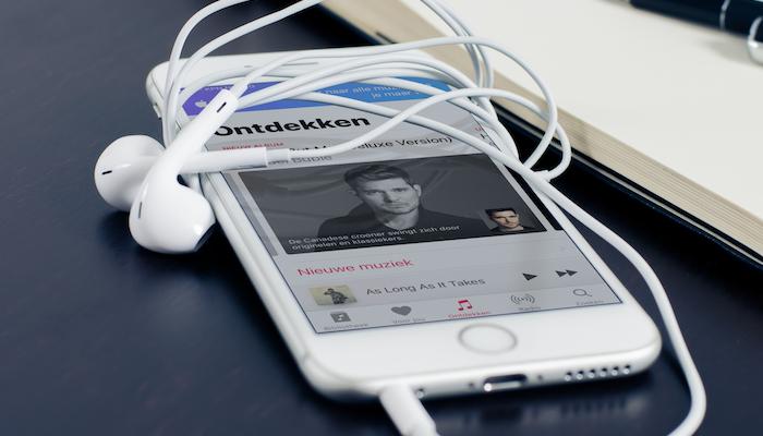 iphone oortjes apple music