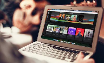 spotify web browser
