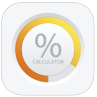 Percent Calculator & Conversion voor iPhone, iPad en iPod touch