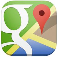 Google Maps voor iPhone, iPad en iPod touch