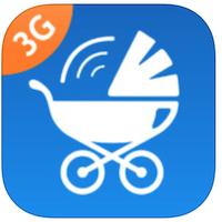Babyfoon 3G voor iPhone, iPad en iPod touch