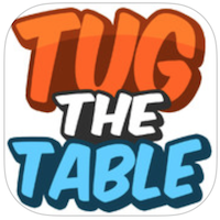 Tug the Table voor iPhone, iPad en iPod touch