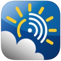 Weerslag voor iPhone, iPad en iPod touch