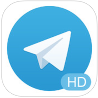 Telegram HD voor iPhone, iPad en iPod touch