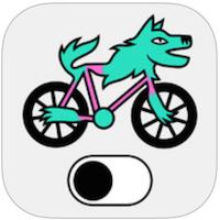 Fietsmodus voor iPhone, iPad en iPod touch