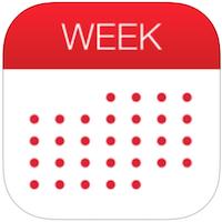 Week Calendar voor iPhone, iPad en iPod touch