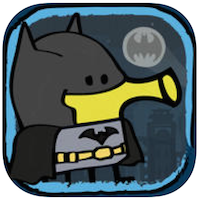 Doodle Jump DC Superheroes voor iPhone, iPad en iPod touch