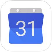 Google Agenda voor iPhone, iPad en iPod touch