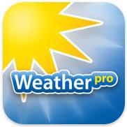 WeatherPro voor iPhone, iPad en iPod touch