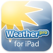 WeatherPro for iPad voor iPhone, iPad en iPod touch