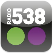 Radio 538 iPad edition voor iPhone, iPad en iPod touch