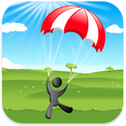 Jump&Fly - The Parachute Simulator voor iPhone, iPad en iPod touch