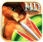 Fruit Ninja: Puss in Boots HD voor iPhone, iPad en iPod touch