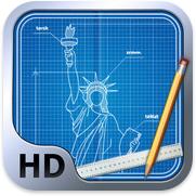 Blueprint 3D HD voor iPhone, iPad en iPod touch