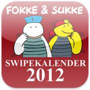 Fokke & Sukke Swipekalender 2012 voor iPhone, iPad en iPod touch