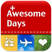 Awesome Days voor iPhone, iPad en iPod touch
