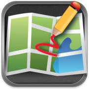 DrawOnMap voor iPhone, iPad en iPod touch