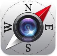 Campass voor iPhone, iPad en iPod touch