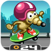 Rat On A Skateboard voor iPhone, iPad en iPod touch