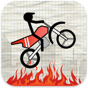 Stick Stunt Biker HD voor iPhone, iPad en iPod touch