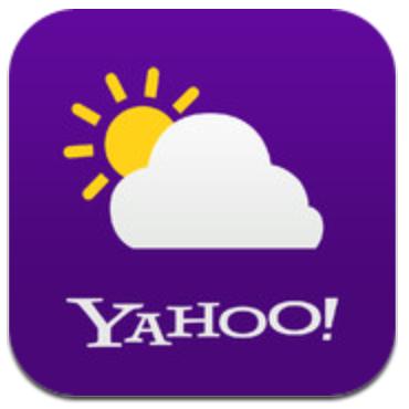 Yahoo! Weer voor iPhone, iPad en iPod touch