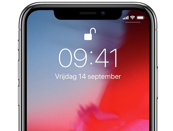 iphone ontgrendeld