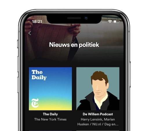spotify podcasts iphone