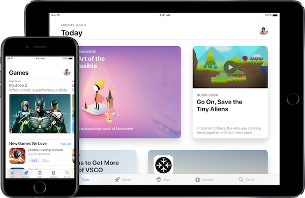 app-store-overzicht