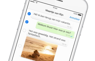 whatsapp gesprek chat